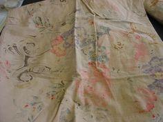 Ralph Lauren.  Unknown Watercolor Print.  100% cotton.