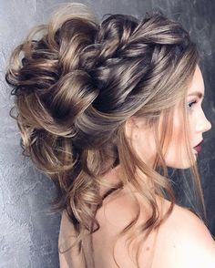 messy updo hairstyle for long hair perfect for every season from everyday to wedding,wedding hairstyles. Get inspired by these gorgeous styles