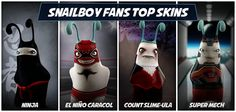 Top Snailboy Skins voted by Fans! Deadpool, Fans, Adventure, Superhero, Top, Fictional Characters, Superheroes, Followers, Adventure Game