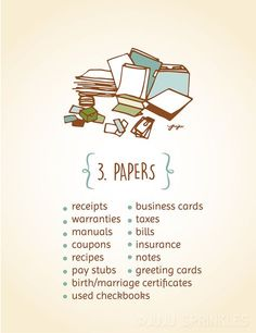 Konmari Category 3 Papers copy