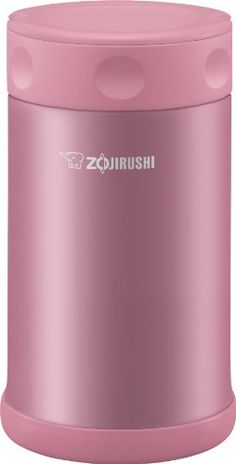 Zojirushi Stainless Steel Food Jar 25 oz. / 0.75 Liter, Shiny Pink. For product & price info go to:  https://all4hiking.com/products/zojirushi-stainless-steel-food-jar-25-oz-0-75-liter-shiny-pink/