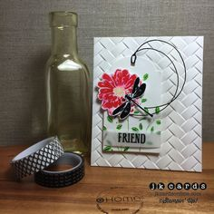 Paper by - Cards and Paper Crafts at Splitcoaststampers We R Memory Keepers, Pen And Watercolor, Simon Says Stamp, Make Design, Card Tags, Embossing Folder, Cardmaking, Card Stock, Embellishments