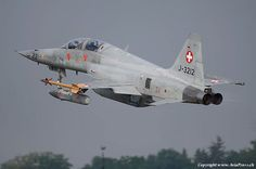 Military Jets, Military Aircraft, Fighter Aircraft, Fighter Jets, Swiss Air, Old Planes, Tiger Ii, Aeroplanes, Nasa