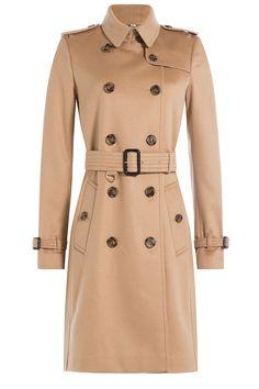 Burberry coat, $2,345, stylebop.com.   - HarpersBAZAAR.com