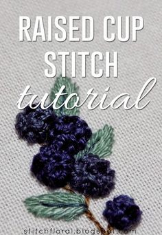 Advanced Embroidery, Embroidery Stitches Tutorial, Free Machine Embroidery Designs, Hand Embroidery Stitches, Silk Ribbon Embroidery, Embroidery Techniques, Embroidery Thread, Cross Stitch Embroidery, Embroidery Patterns