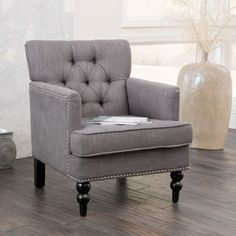Christopher Knight Home Malone Beige Club Chair - Overstock Shopping - Great Deals on Christopher Knight Home Living Room Chairs