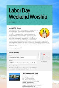 Labor Day Weekend Worship