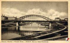 Most Józefa Piłsudskiego (Czwart Most, Drugi Most, Most Tadeusza Kościuszki, pot. Żołw), Kraków - 1941 rok, stare zdjęcia