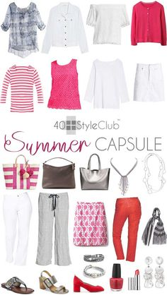 2018 summer capsule wardrobe for the 40+style club   40plusstyle.com