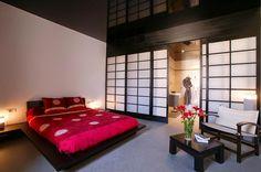 Asian modern home design bedroom