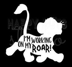 I'm working on My Roar Simba Lion King Disney Vacation Animal Kingdom Safari Matching Kids Fa. I'm working on My Roar Simba Lion King Disney Vacation Animal Kingdom Safari Matching Kids Family Disney Iron On Decal Vinyl for Shirt 459 Disney Vacation Shirts, Disney Shirts For Family, Disney World Vacation, Disney Family, Disney Vacations, Disney Trips, Disney Animal Kingdom, Walt Disney, Disney Diy