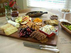 My cheese platter