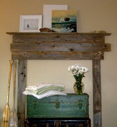 Slipcovering Your Mantel And More