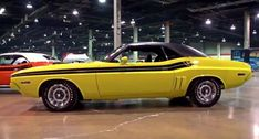 citron yella 1971 dodge challenger rt