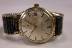Watch Omega Seamaster Automatic Vintage Working 10k Gold Filled Mens Watch Free Shipping .epsteam Make Offer