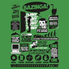 """""""Sheldon Cooper Quotes"""" T-Shirts & Hoodies by Tom Trager 