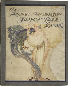 """The Anne Anderson Fairy Tale Book. The illustration is of the story """"Judgement Day"""""""