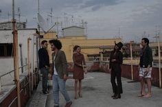 Cose vintage su tetti romani.