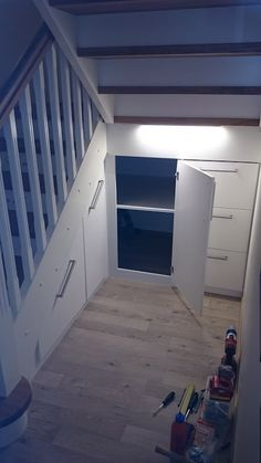 Secret Space, Hallway Designs, House Stairs, Under Stairs, My Dream Home, Bungalow, New Homes, Home And Garden, Loft