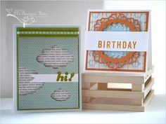 The Stampin' Bean: Clouds & Doilies