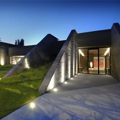 Underground Concrete Homes | Concrete House II by A-Cero