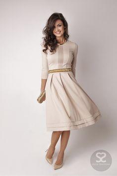 Платье с пышной юбкой. Тренд сезона. | Skazkina