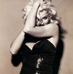 """Photography by Steven Meisel, 1991      """"I am my own experiment.  I am my own work of art""""      Madonna  (b. 1958)"""