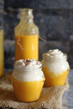 Bombardino - Thermomix Przepisy Pudding, Desserts, How To Make, Food, Thermomix, Tailgate Desserts, Deserts, Essen, Puddings