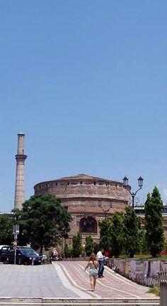 The Rotunda In Town Of Thessaloniki, Greece