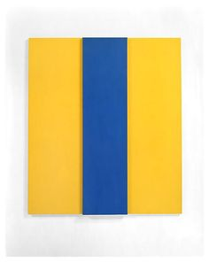 Ellsworth Kelly, 1967-68, Oil on canvas, two joined panels 60 x 52 x 2 1/2 inches; 152 x 132 x 6 cm