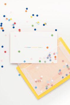 Als je onze verzameling aan Confetti Babyshower inspiratie hebt gezien, steek jij zeker je hand op om de volgende babyshower te organiseren.