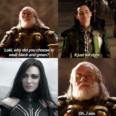 That's my theory. Loki somehow looked into Odin's mind and pulled out Hel's style