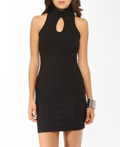 Paneled High Neck Dress | FOREVER21 - 2000047244