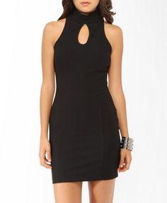 Paneled High Neck Dress   FOREVER21 - 2000047244