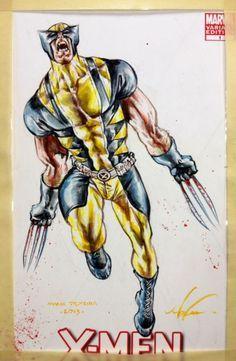 mark texeira artist | ... Mark Texeira Comic Art wolverin, comic book, comic art, texeira comic