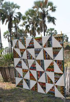 African Quilt from Lazy Lion Quilts