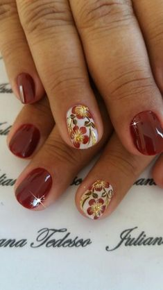 Awesome 39 Unordinary Thanksgiving Nail Art Designs Ideas For Fall Season Elegant Nail Designs, Fall Nail Art Designs, Colorful Nail Designs, Elegant Nails, Autumn Nails, Winter Nails, Ongles Beiges, Fall Nail Colors, Bright Colors