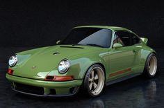 Singer Dynamics and Lightweighting Study (DLS) auf Porsche-Basis