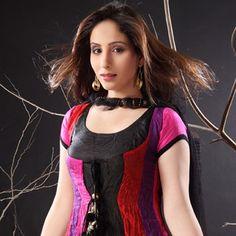 Multicolor Art Silk Readymade Churidar Kameez With Dupatta
