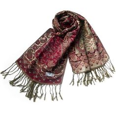 Pa-604-1 Paisley & Flower Mix-pattern Revitalized Style Luxurious Silky Soft Pashmina/Shawl/Scarves Blancho Pashmina. $14.99. Pashmina measures 68 by 27 inches with 5 inches tassel, contains 55% pashmina and 45% silk. Chic & distinctive pattern, a sense of fashion and elegant, fringed at both ends of the pashmina. High-quality material, it is a best gift for women. Lightweight, luxurious silky soft, and comfortable.. Like an aesthetic art,it is a perfect and suitab...