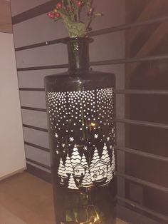 Vase, Lighting, Home Decor, Homemade Home Decor, Flower Vases, Jars, Lights, Lightning, Decoration Home