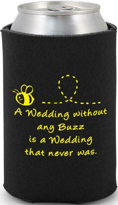 Totally Wedding Koozies - Inexpensive wedding favors!