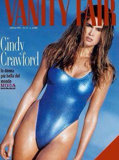 Cindy Crawford for Vanity Fair Italia April 1991