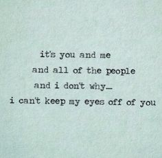 You and me by Lifehouse