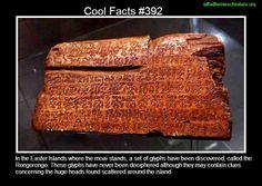Cool facts #392  http://en.wikipedia.org/wiki/Rongorongo