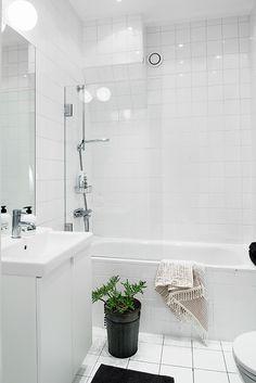 Duschvägg i badkar