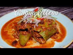 Caigua Rellena – A Comer
