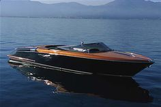THE Riva Aquarama speed boat from Ferretti yachts in Italy. My fave.