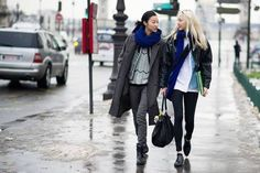 Streetstyle: Soojoo and Park Jihye in Paris after Chanel by KooYoungjun