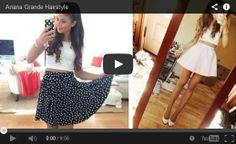 #ariana grande hairstyles youtube #ariana grande hairstyles 2014 #ariana grande hairstyles tutorial
